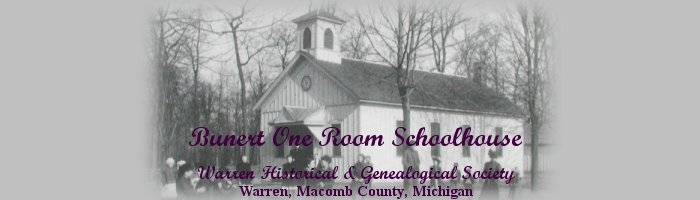 Bunert One Room School House